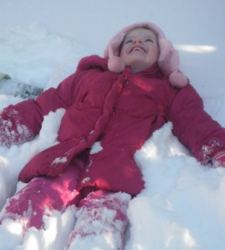 Kids and Nature in Winter